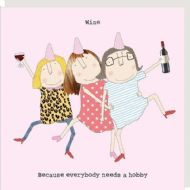 Rosie Made a Thing 'Wine Hobby' Card